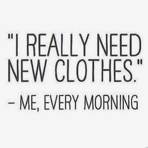 Do we ever have enough clothes??! Come shop HERE